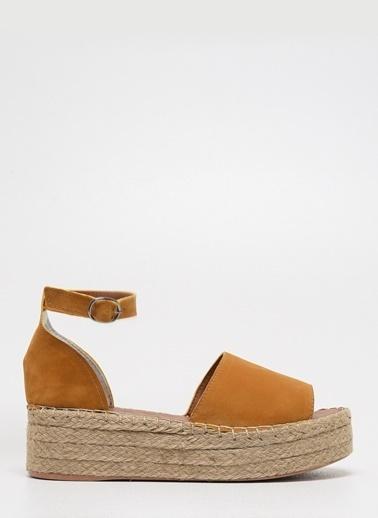 D by Divarese Sandalet Sarı